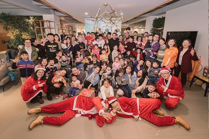 2017年奥普家圣诞节亲子活动