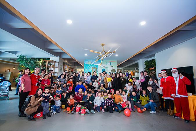 2018年奥普家圣诞节亲子活动